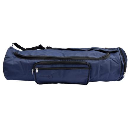 Väska för yogamatta i ull, 70 cm, MÖRKBLÅ