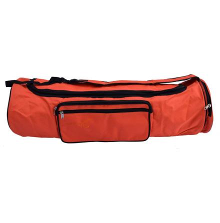 Väska för yogamatta i ull, 70 cm, ORANGE