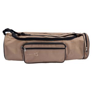 Väska för yogamatta i ull, 70 cm, SAND