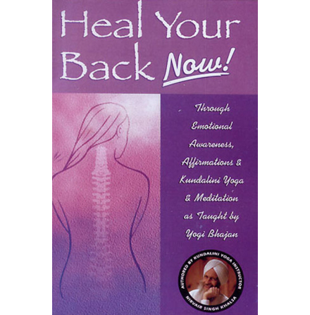 Heal Your Back Now!