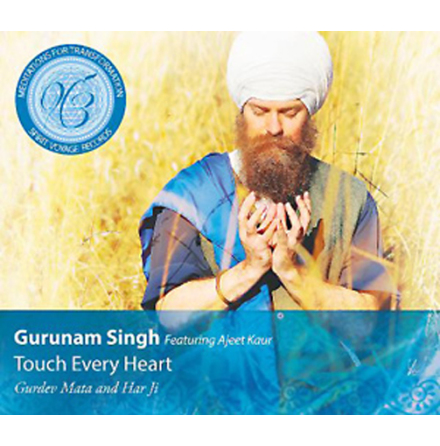 Touch Every Heart - CD av Gurunam Singh