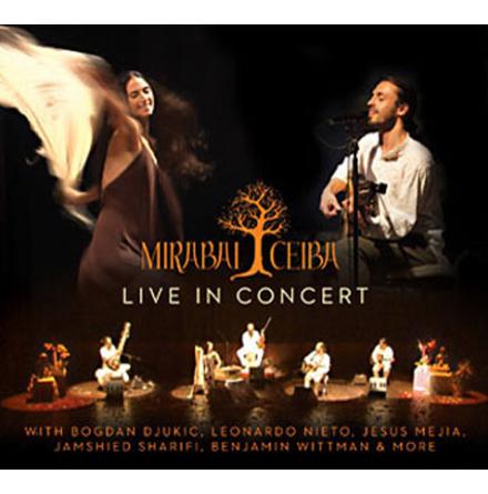 Live in concert - dubbel CD av Mirabai Ceiba
