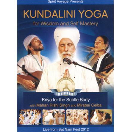 Kundalini Yoga for Wisdom and Self Mastery - DVD med Mahan Rishi