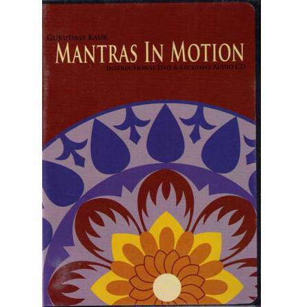 Mantras in Motion - DVD av Gurudass Kaur