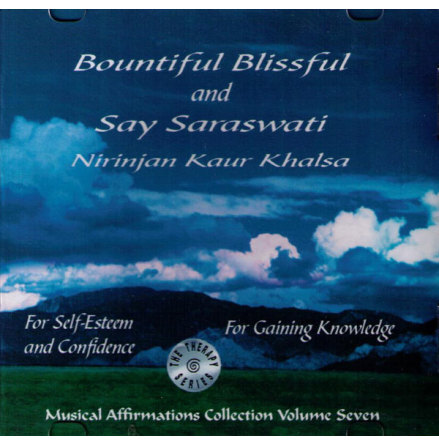 Bountiful Blissful & Say Saraswati - CD av Nirinjan Kaur