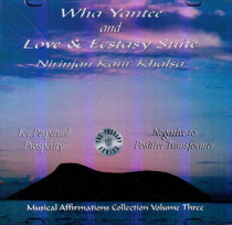 Wha Yantee and Love & Ecstasy Suite - CD av Nirinjan Kaur