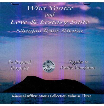 Wha Yantee and Love & Ecstasy Suite - CD av Nirinjan Kaur