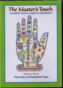 The Master´s Touch vol 3: The Grace of Kundalini Yoga - DVD med Yogi Bhajan