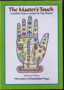 The Master´s Touch vol 3: The Grace of Kundalini Yoga - DVD med Yogi Bhajan
