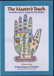 The Master´s Touch vol 6: Projecting as a Teacher - DVD med Yogi Bhajan