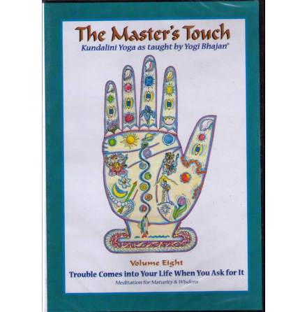 The Master´s Touch vol 8: Trouble Comes into Your Life When - DVD med Yogi Bhajan