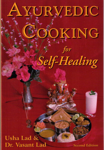 Ayurvedic cooking for self healing bok av usha dr for Ayurvedic cuisine