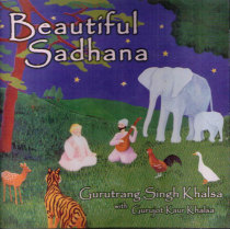 Beautiful Sadhana - CD av Gurutrang Singh
