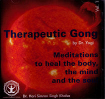 Therapeutic Gong vol 1 - CD av Hari Simran Singh