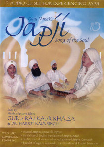 Japji - Song of the Soul - dubbel CD av Guru Raj Kaur