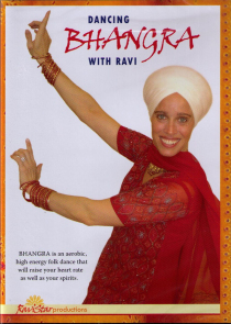 Dancing Bhangra with Ravi DVD