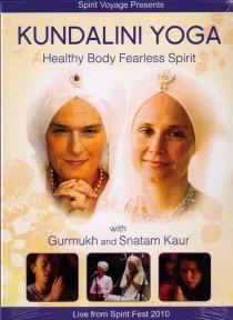 Kundalini Yoga Healthy Body Fearless Spirit - yogaDVD av Gurumukh och Snatam Kaur
