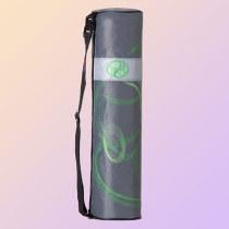 Väska för yogamatta Yin-Yang, grön/mörkgrå