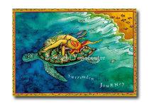 Surrender to the Journey - Yogavykort
