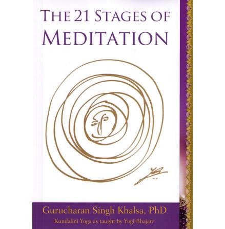 21 Stages of Meditation - bok