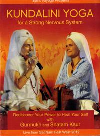 Kundalini Yoga for a Strong Nervous System - YogaDVD av Gurmukh och Snatam kaur